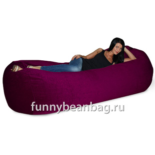 Бескаркасный диван Cushion grand Вишневый
