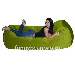 Бескаркасный диван Cushion grand Салатовый