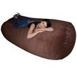 Бескаркасный диван Cushion grand Коричневый
