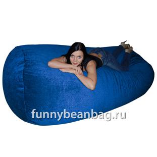 Бескаркасный диван Cushion grand Синий