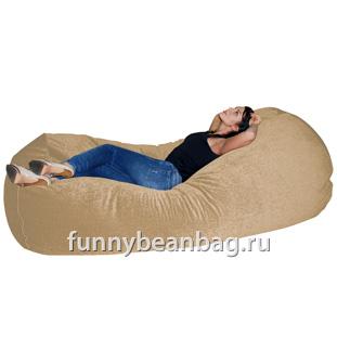Бескаркасный диван Cushion grand Бежевый