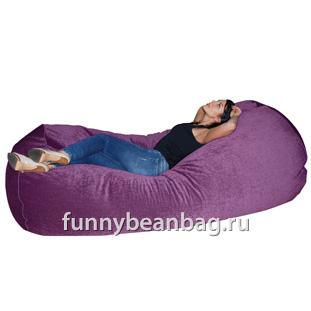 Бескаркасный диван Cushion grand Сиреневый