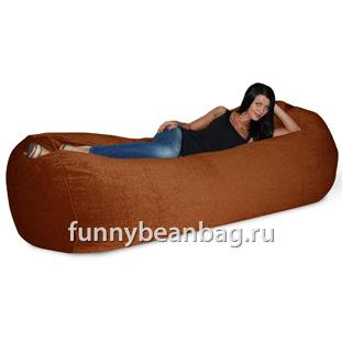 Бескаркасный диван Cushion grand Терракот