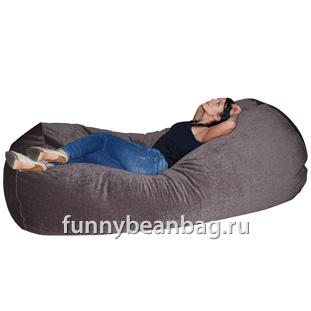 Бескаркасный диван Cushion grand Серый