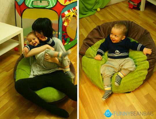 кресло пуфик детское