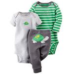 Комплект 2 боди и штанишки Carters от 6 до 9 месяцев