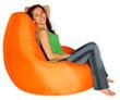 Кресло груша Summer city L оранжевый