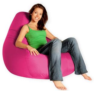 Кресло груша Summer city L розовый
