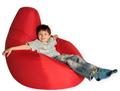 Кресло груша Summer city L красный