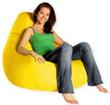 Кресло груша Summer city L желтый