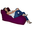 Бескаркасное кресло La primavera Фиолетовый