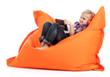 Кресло подушка Summer city оранжевый