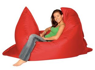 Кресло подушка Summer city красный